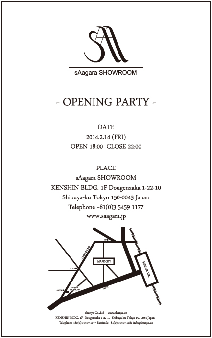 OPENING PARTY DM(表)